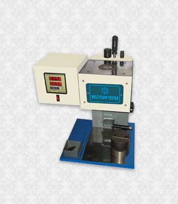 Melt Flow Index Tester (According to ASTM D 1238 to 1295)